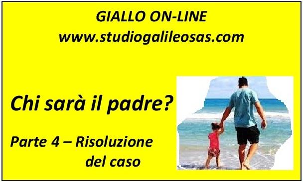 Risoluzione del caso - giallo on line - studio galileo