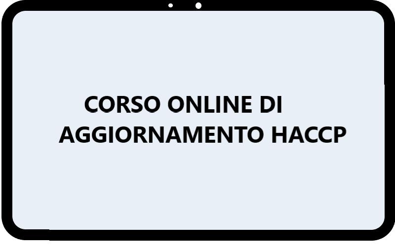 Corso online di aggiornamento hccp